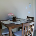 The casita dining area
